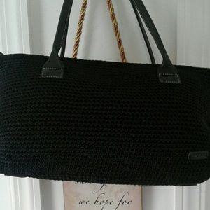 Crochet Black bag💥 The Sak